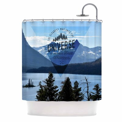 Through the Wilderness Photography Shower Curtain