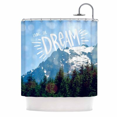 The Dream Photography Shower Curtain