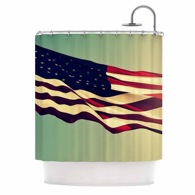 Freedom Digital Shower Curtain
