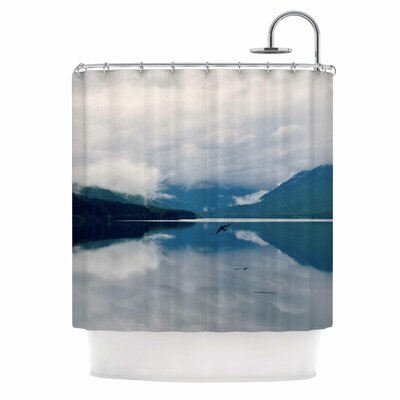 Flight Photography Shower Curtain