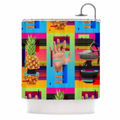 Triptic Pop Art Shower Curtain