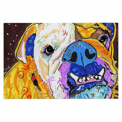 'Tucker' Bulldog Decorative Doormat