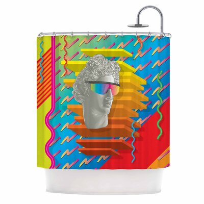 Super Tacky System III Shower Curtain