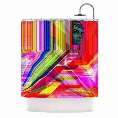 Mechancholya Pop Art Shower Curtain