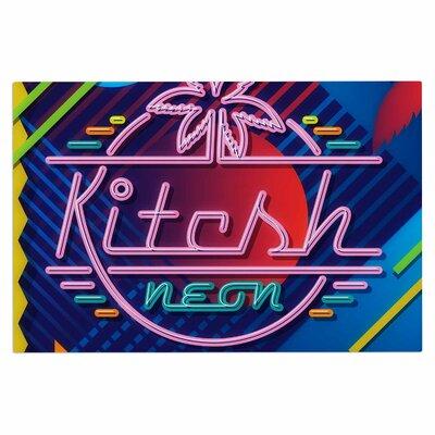 Kitsch Neon Doormat