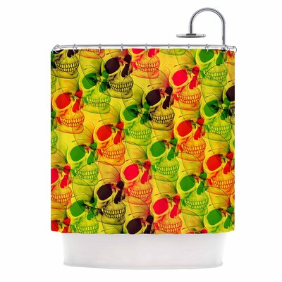 Skullfest Shower Curtain
