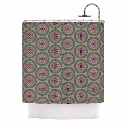 Lucrezia Borgia Brocade Shower Curtain