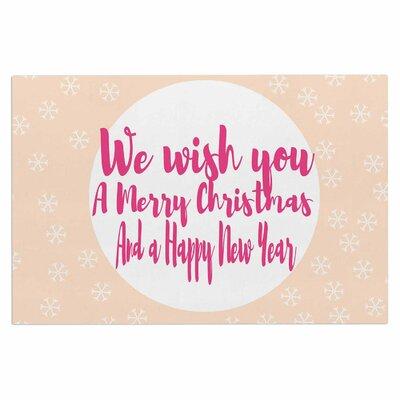 Merry Chistmas & Happy New Year Doormat