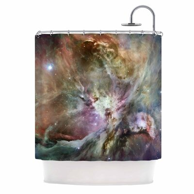 Orion Nebula Celestial Shower Curtain