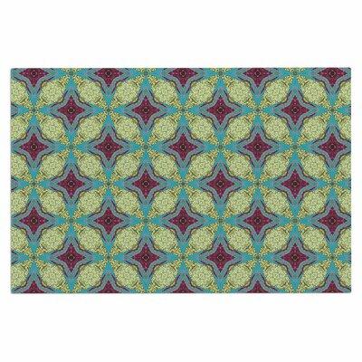 Brocade Foulard Plum Decorative Doormat