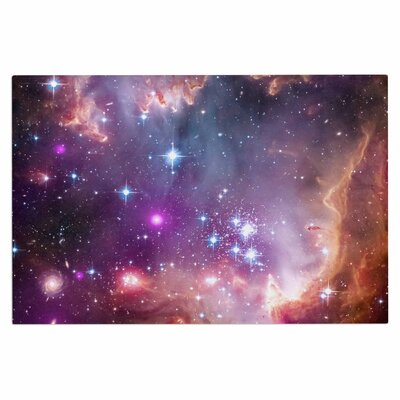 Cosmic Cloud Celestial Decorative Doormat