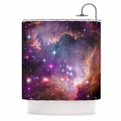 Cosmic Cloud Celestial Shower Curtain