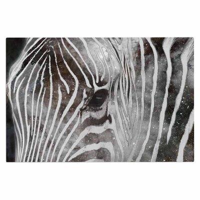 Space Zebra Celestial Stripes Decorative Doormat