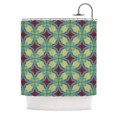 Brocade Foulard Shower Curtain
