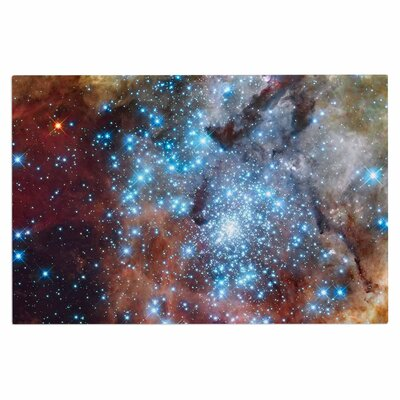 Star Cluster Space Decorative Doormat
