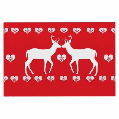Christmas Deer 2 Doormat