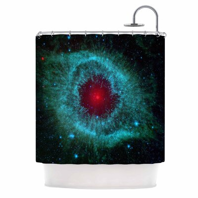 Helix Nebula Celestial Shower Curtain