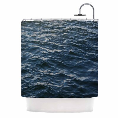 Deep Water Nautical Shower Curtain