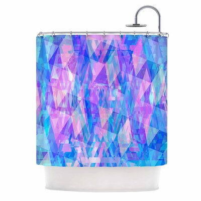 Geo Prism 2 Shower Curtain