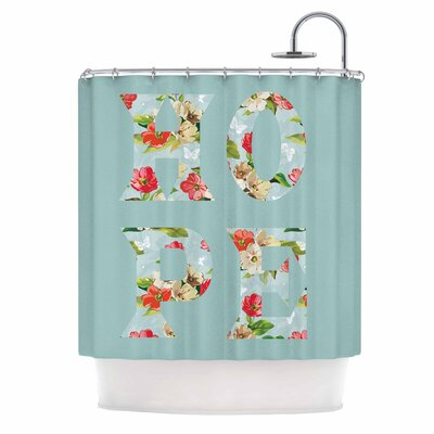 'Hope' Shower Curtain