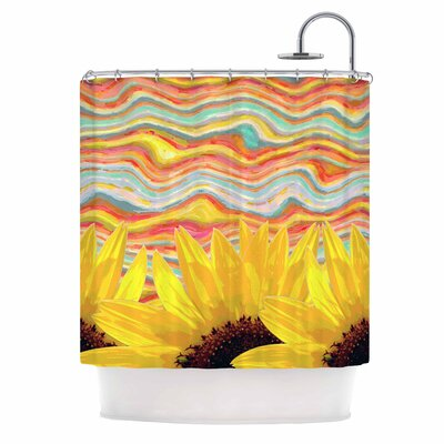 Sunflower Dreaming Shower Curtain