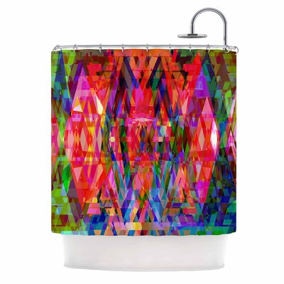 Geo-Prism Shower Curtain