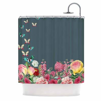Summer Garden 2 Shower Curtain