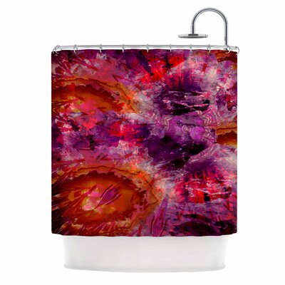 Gem Stone Shower Curtain