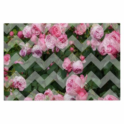 Chevron Rose Doormat