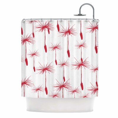 'Dandelion' Shower Curtain