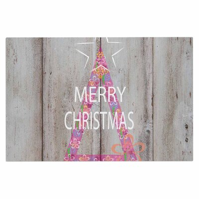 Merry Christmas Tree Doormat