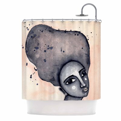 Yearning African American Art Shower Curtain