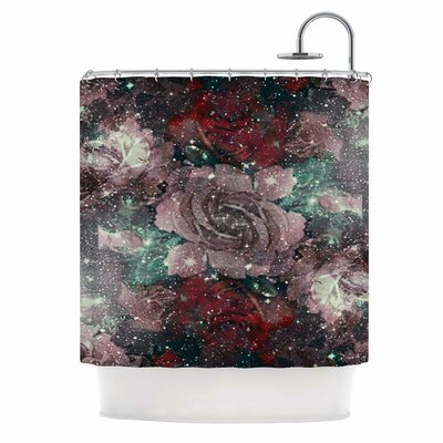 Love Roses Digital Shower Curtain