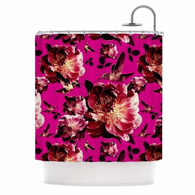 'Floral' Photography Shower Curtain