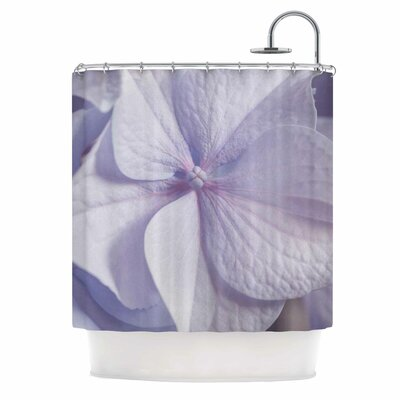 Pastel Purple Hydrangea Flower Shower Curtain