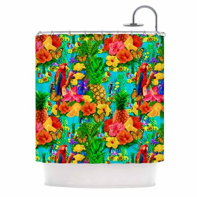Tropical Style Nature Shower Curtain