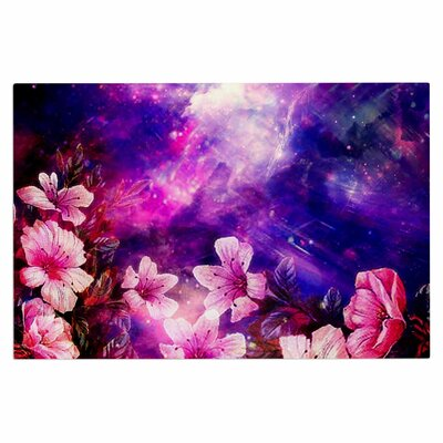 Space Flowers Doormat