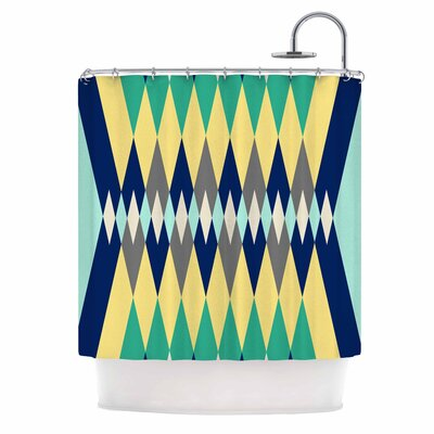 Sweet Tribal Digital Shower Curtain