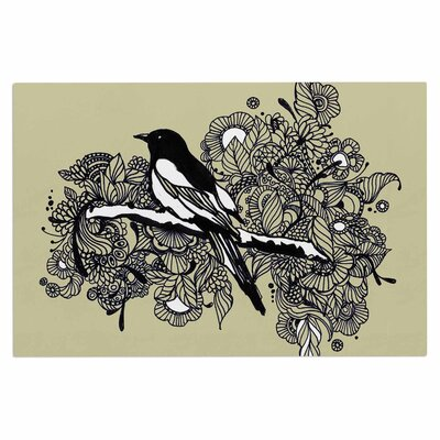 Magpie Bird Decorative Doormat
