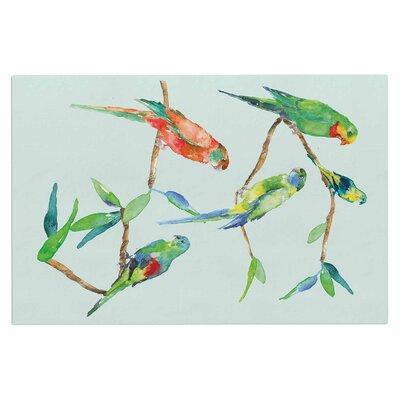 Parrot Party Doormat