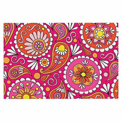 Paisley Pop Doormat