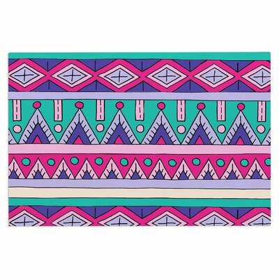 Teal Tribal Doormat