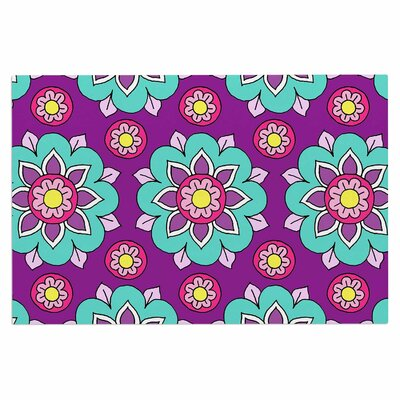 Bright Blossoms Doormat
