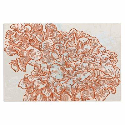 Lettuce Coral Doormat
