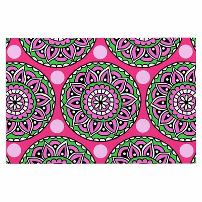 Watermelon Mandala Doormat
