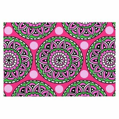 Watermelon Mandala Doormat
