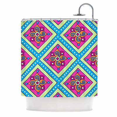 Colorful Diamonds Shower Curtain