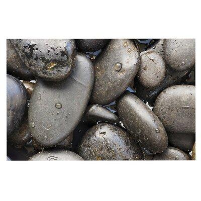 Skipping Stone Rocks Decorative Doormat