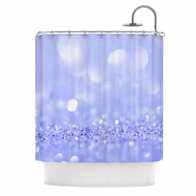 Purple Violet Sparkle Glamour Photography Shower Curtain