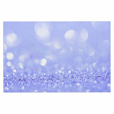 Purple Violet Sparkle Glamour Doormat